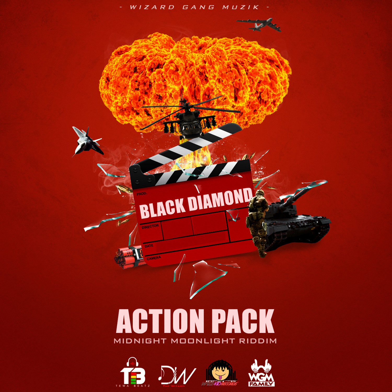 BLACK DIAMOND – ACTION PACK (RAW & CLEAN)