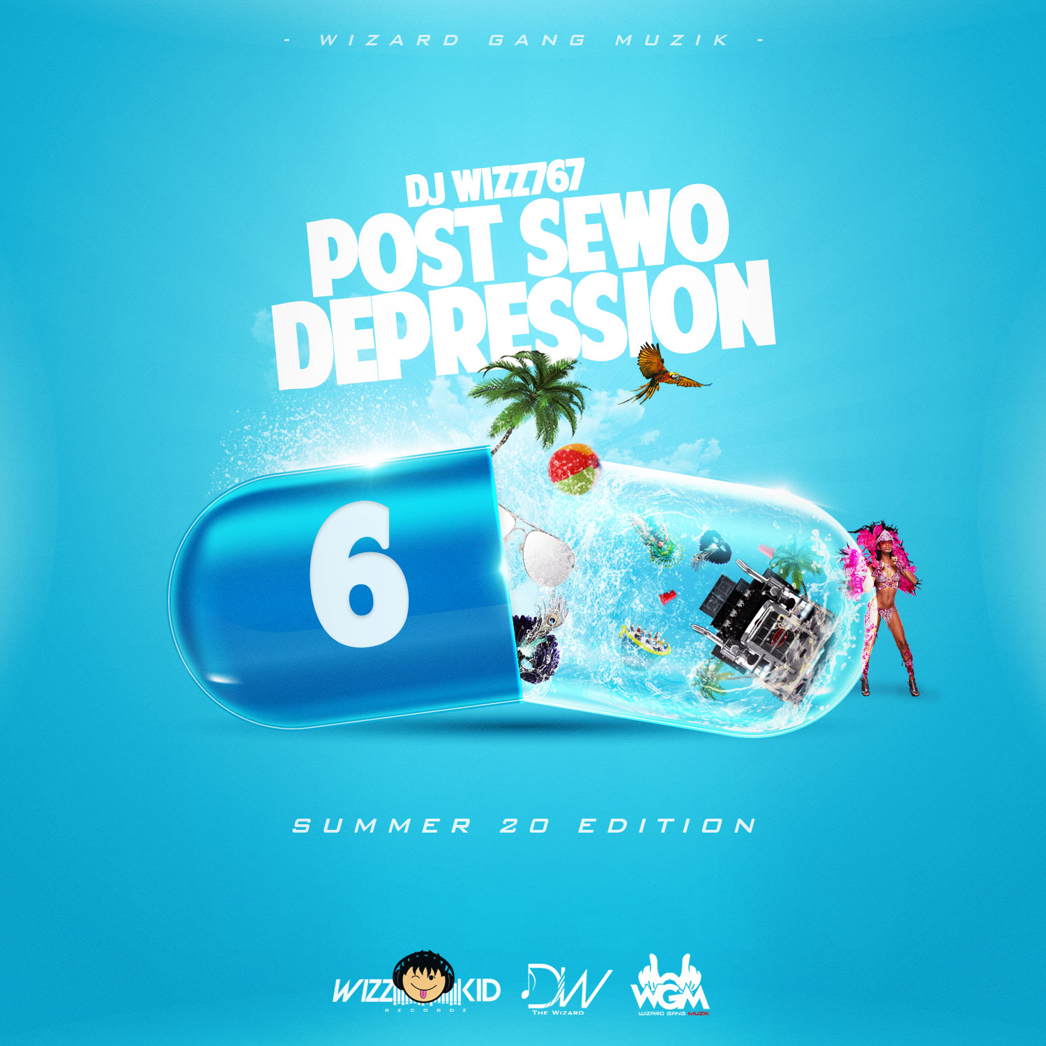 Dj Wizz767 – Post Sewo Depression 6 (Summer 20 Edition)