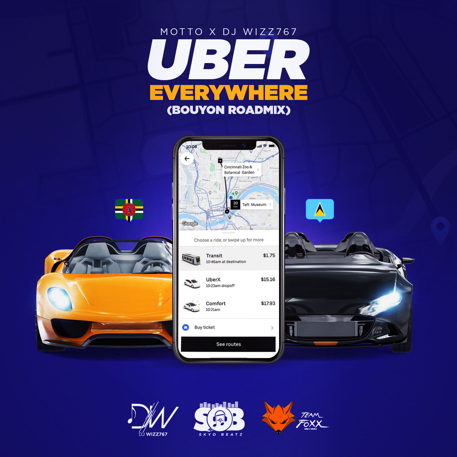 Read more about the article Motto x Dj Wizz767 – UBER EVERYWHERE (BOUYON REMIX)